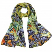 Art Painted Silk Scarves
