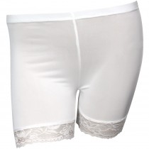 Refreshing Lace Edge Silky Safety Shorts