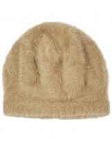 Dahlia Women's Angora Beanie Hat - Super Soft & Warm Velour Lining