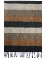 Dahlia Men's Scarf - Colorful Awning Stripes