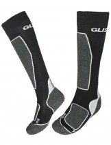 Dahlia Men's Ski Socks - Glissade Black/Gray